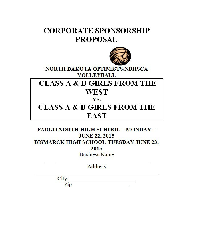How To Write A Letter Of Proposal For Sponsorship Sponsorship – Free Sponsorship Letter