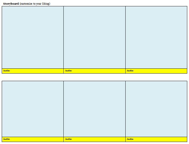 40 Professional Storyboard Templates & Examples – Free Template
