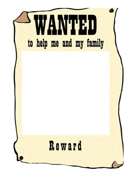 18 Free Wanted Poster Templates (FBI and Old West, Free ...