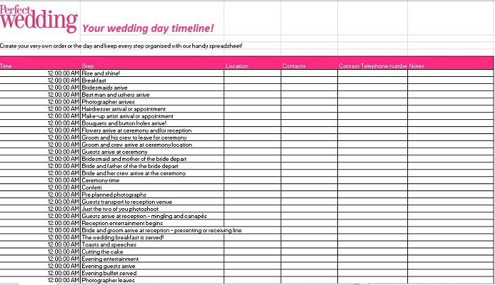 Wedding Guest List Template 29  Guest List Template For Wedding
