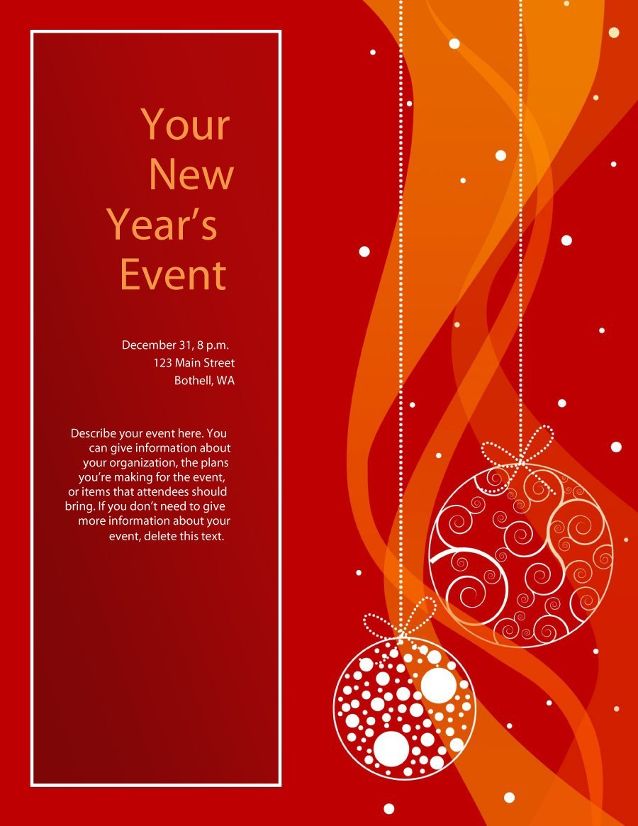 41 amazing free flyer templates event party business for Free flyer templates for microsoft word