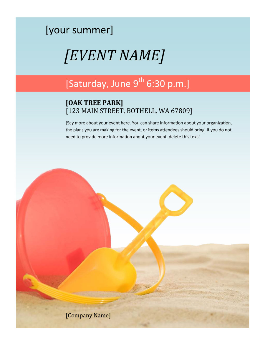 41 amazing free flyer templates  event  party  business