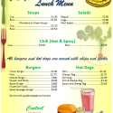 Office Menu Template