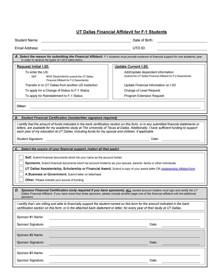 Affidavit Of Child Support Sample Letter from www.freetemplatedownloads.net