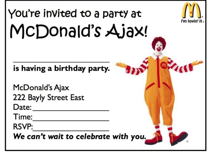 43 Free Birthday Party Invitation Templates