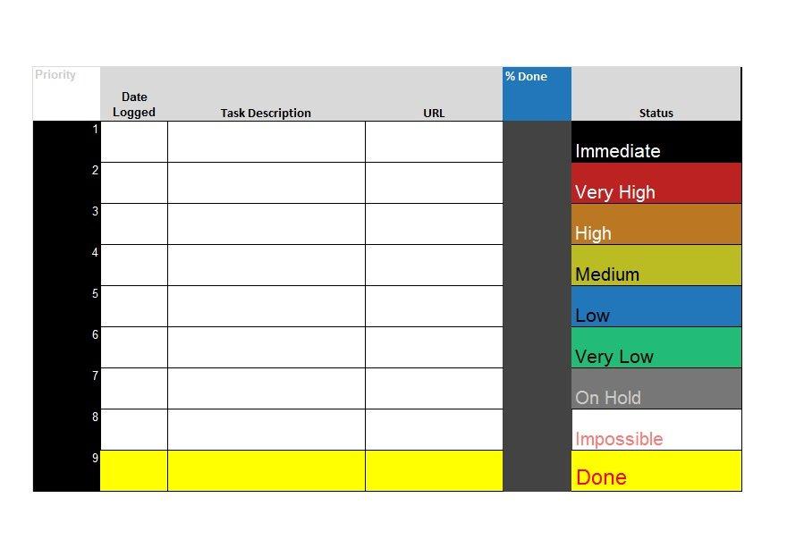 51 free printable to do list  u0026 checklist templates  excel