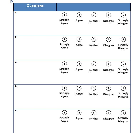 30 free likert scale templates  u0026 examples
