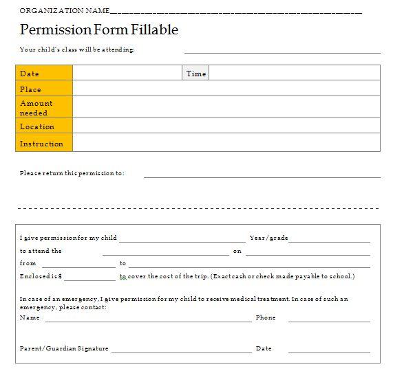 Field Trip Template Permission Letter from www.freetemplatedownloads.net