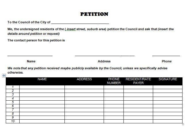 petition-template-271