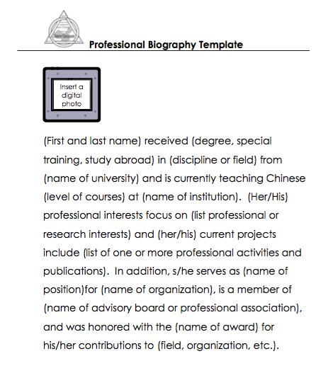 45 Free Biography Templates Examples Personal Professional Free Template Downloads