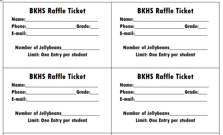 It is a photo of Free Printable Raffle Ticket Template within custom printable
