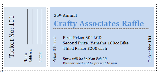 It's just a picture of Free Printable Raffle Ticket Template regarding drawing