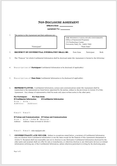 Employment Agreement Templates