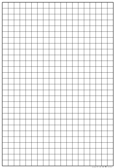 Template For Graph Paper from www.freetemplatedownloads.net
