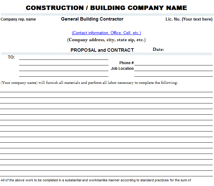 bid proposal template 06
