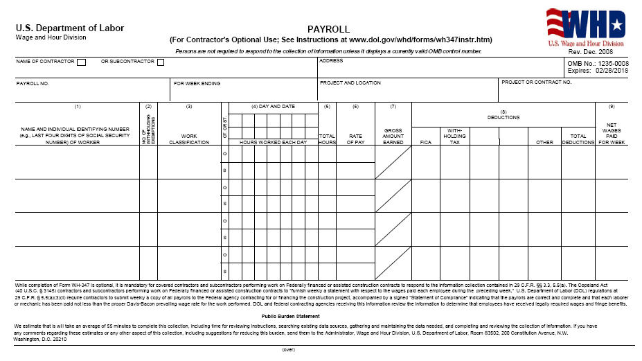 41 Free Printable Payroll Templates