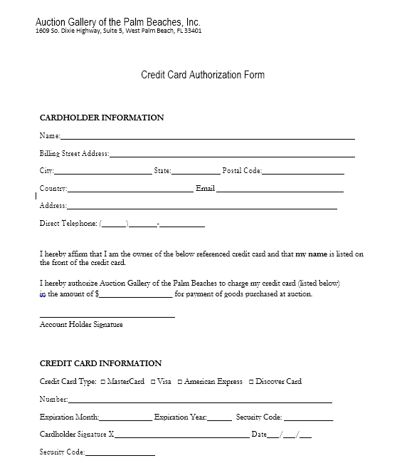 credit card authorization form template 09